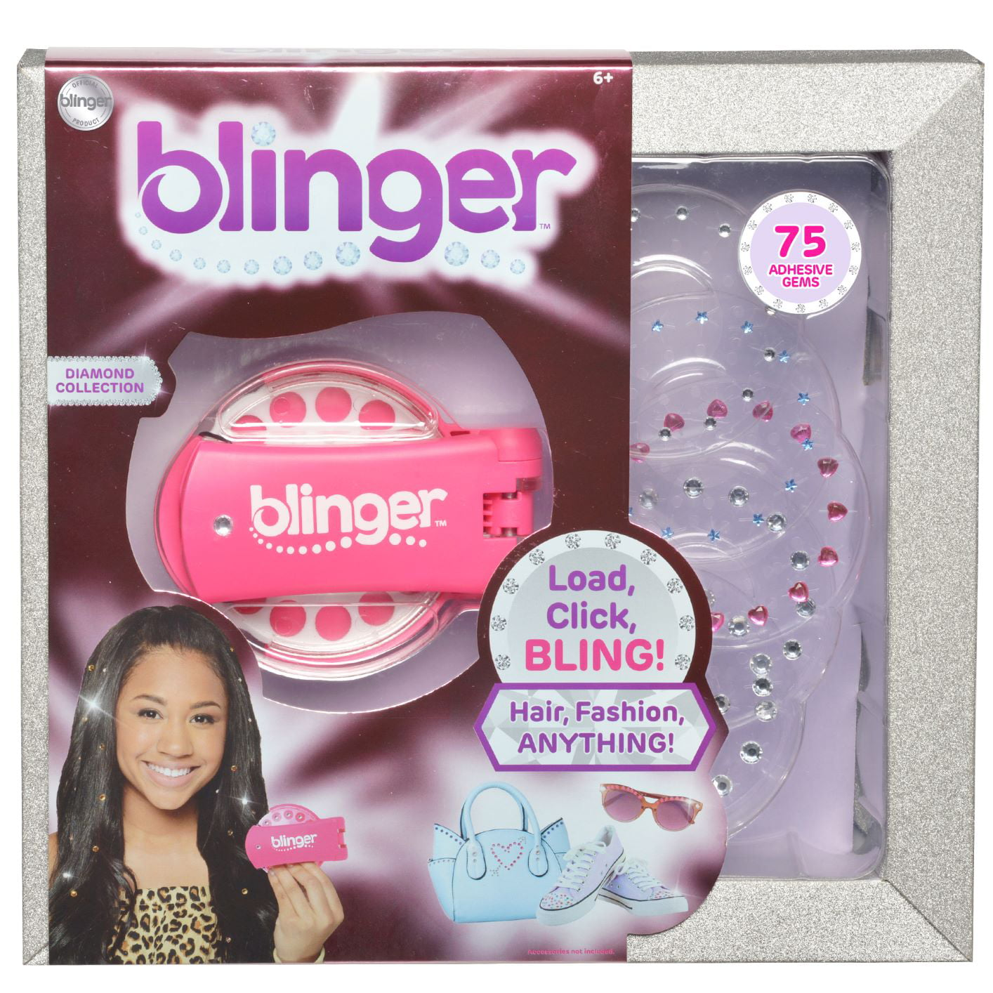 Blinger Diamond Collection Pink