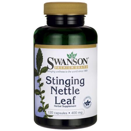 Swanson Stinging Nettle Leaf Capsules, 800 mg, 60 (Best Stinging Nettle Supplement)
