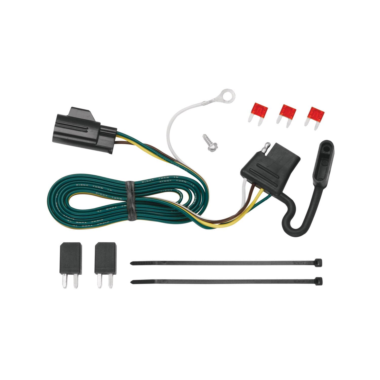 Tekonsha 118432 Trailer Wiring Connector T-One 4 Way Flat ... on