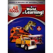 All About: A World Of Learning!, Vol. 1 (Full Frame) by GAIAM INC
