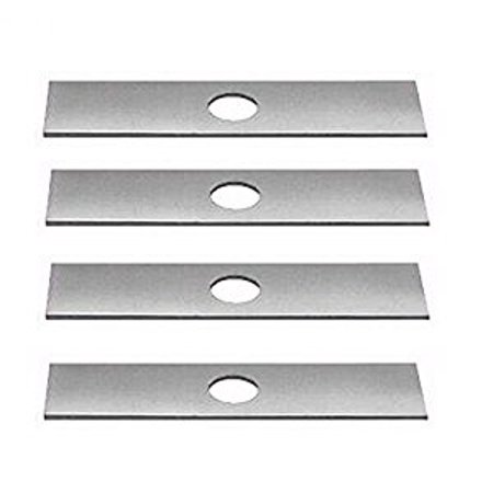 - 4 Pack, Edger Blades Replace Ryobi 613223, Echo 720-237-001, Stihl 4133-713-4101, Maruyama 216062. Green Machine 237001
