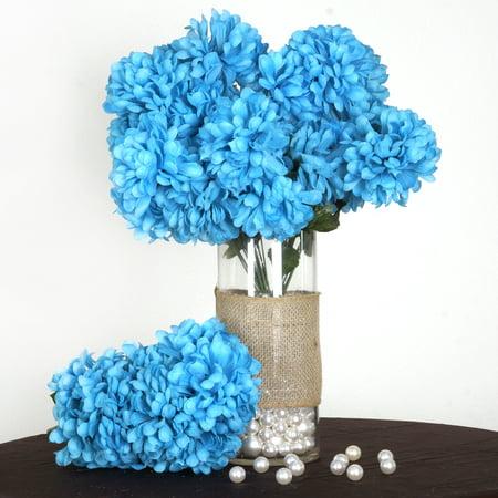 Efavormart 56 Large Chrysanthemum Mums Ballsfor DIY Wedding Bouquets Centerpieces Arrangements Party Home Decorations - 4 bushes