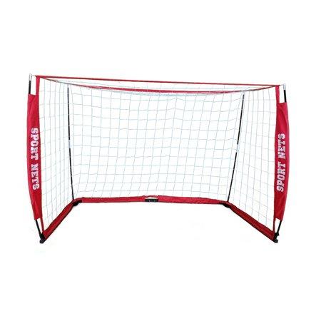 Sport Nets Portable Soccer Goal - Portable Bow Frame Soccer Net With ...