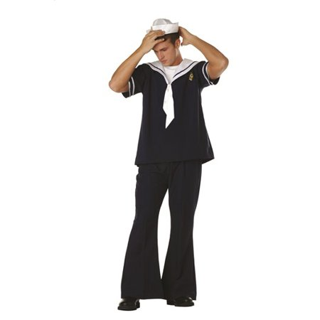 Sailor Navy Costume - Quick Halloween Costume Ideas For Work