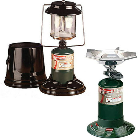 Coleman One-Burner Camp Stove and 810 Lumen 2-Mantel Lantern Value