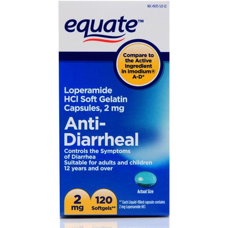 antidiarrhéiques Gélules 2mg 120 ct