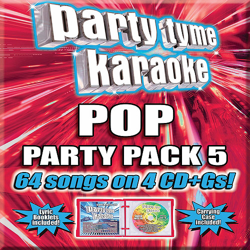 Party Tyme Karaoke: Pop Party Pack 5 (4CD)