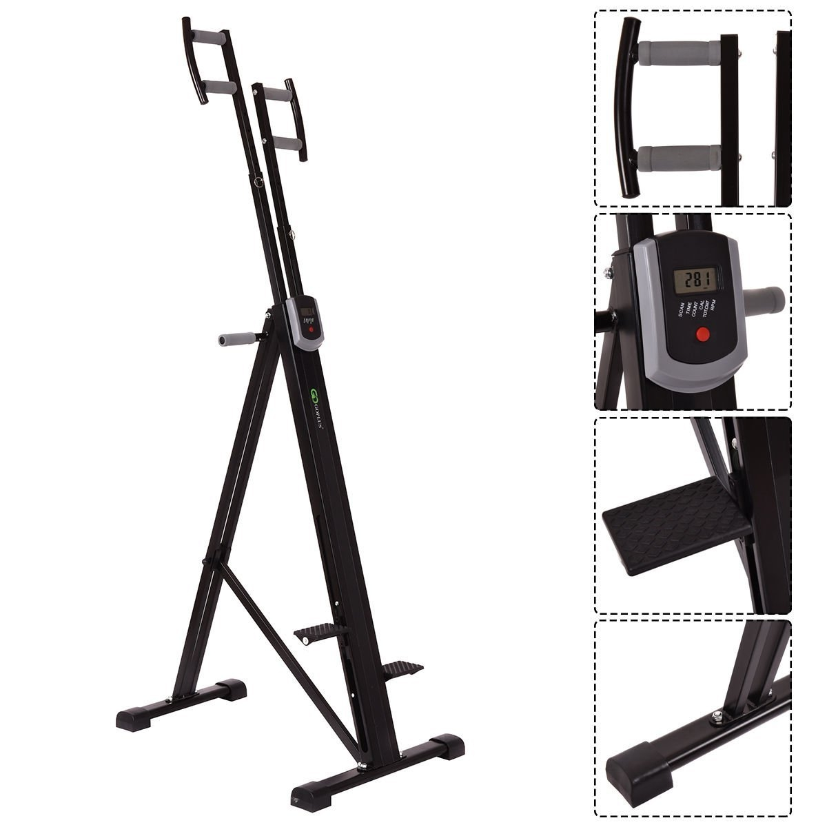 New MTN-G Foldable Vertical Climber Machine Exercise Step...