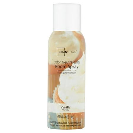 Mainstays Vanilla Odor Neutralizing Room Spray 4oz
