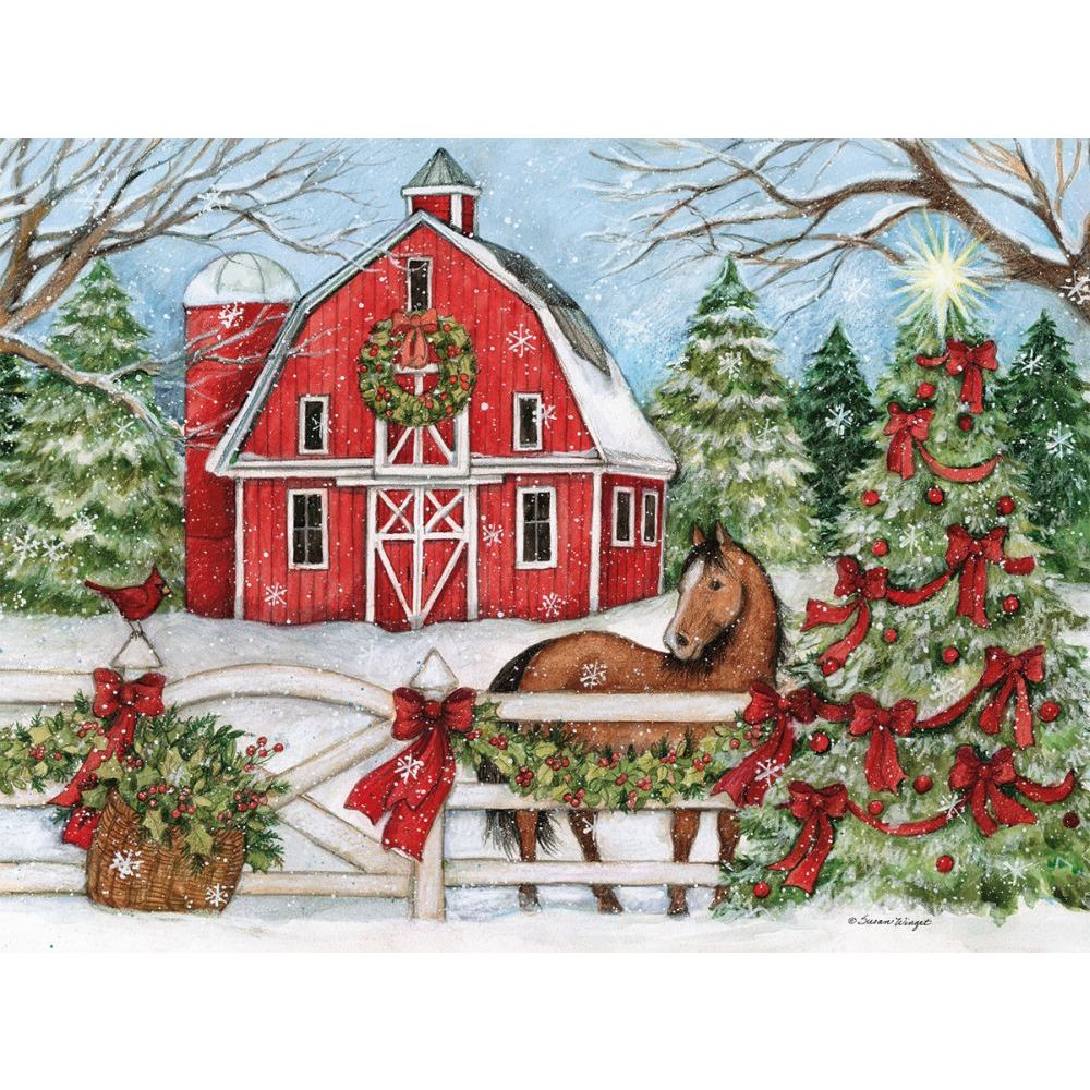 Lang Companies, Heartland Holiday Boxed Christmas Cards