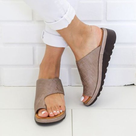 Fancyleo 2019 New Women Comfy Platform Sandal Shoes Summer Beach Travel Shoes Fashion Sandals Comfortable Ladies