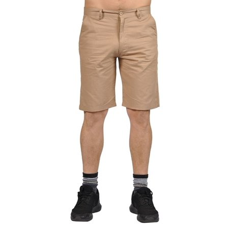 (Jean Legacy Mens Casual 2 pocket Chino Shorts Khaki)