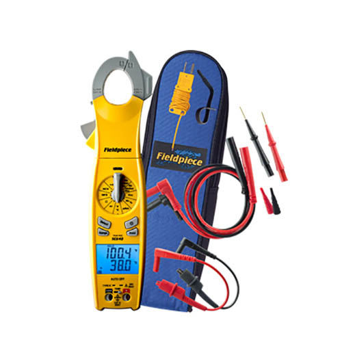 Fieldpiece SC640 Loaded Clamp Meter with Dual Display, True RMS, Inrush, Duty cycle, and MicroA DC