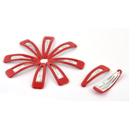 Brandy Snaps - Home Lady Accessories Metal Decorative Charming Bendy Hair Snap Clip Hairpin