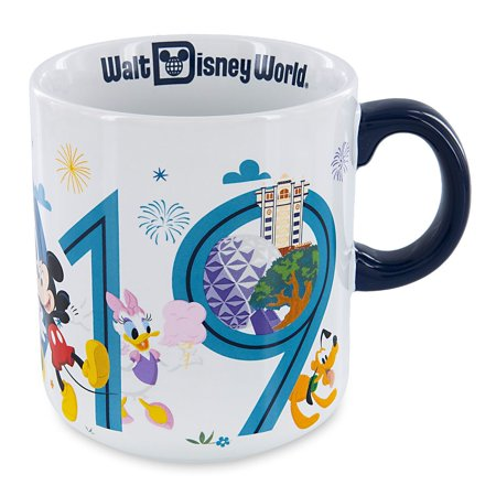 Halloween In Disney World 2019 (Disney Parks Walt Disney World Mickey and Friends 2019 Ceramic Coffee Mug)