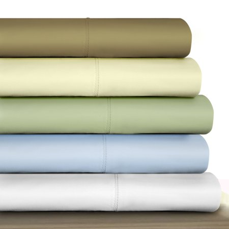 800 Sateen Egyptian Cotton - Tribeca Living 800 TC 100% Egyptian Cotton Sateen Deep Pocket Sheet Set