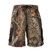 823d801f3fb4d Men's Mossy Oak Break Up Cargo Board Shorts Camouflage Swim Trunks