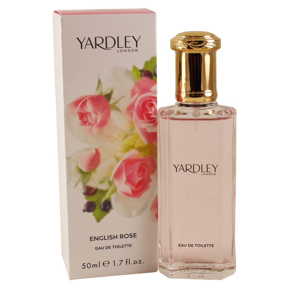 Yardley English Rose Eau De Toilette Spray 1.7 Oz / 50 Ml for Women by Yardley Of London