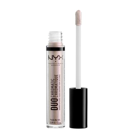 NYX Professional Makeup Duo Chromatic Lip Gloss, Crushing It ()