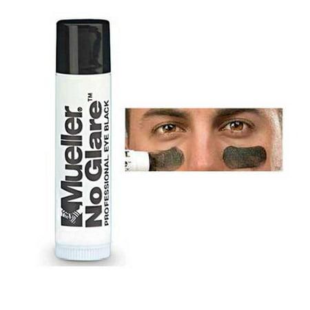 Mueller No Glare Glare-Reducing Stick .65oz (18g)](Football Eye Black)