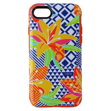 OtterBox Symmetry Series Phone Case Cover for iPhone 7 / 8 - Caribbean Hues ()