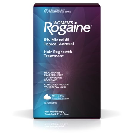Rogaine Women's Minoxidil Hair Thinning and Loss Treatment