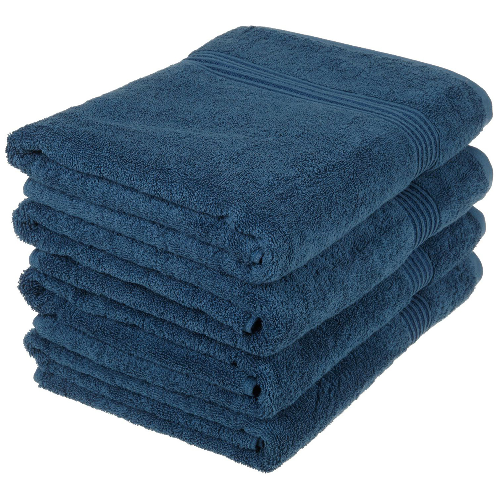 Superior 600GSM Egyptian Quality Cotton 4-Piece Bath Towel Set