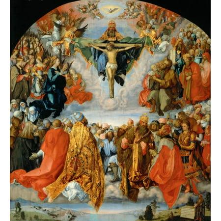 Landauer Altar Poster Print By Albrecht Durer