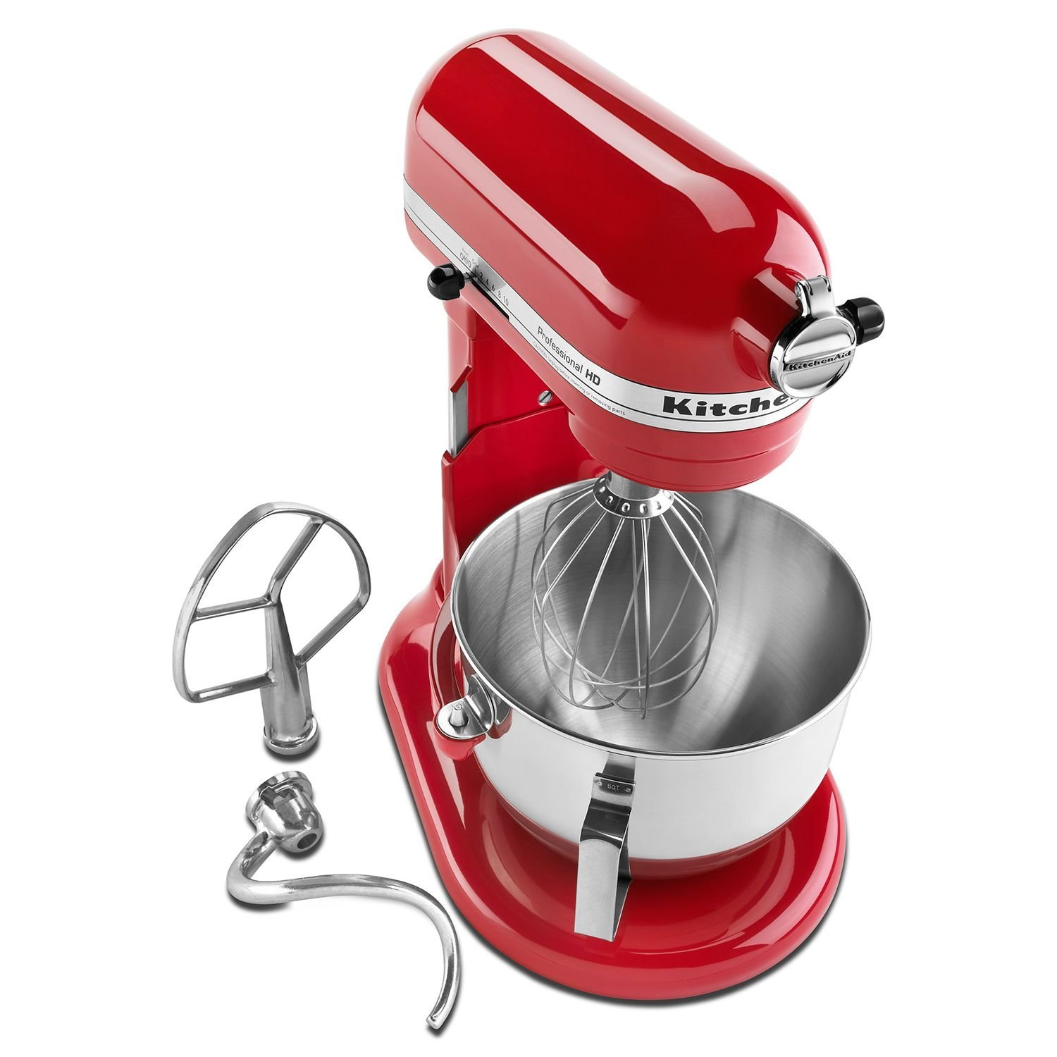 KitchenAid HD RRKG25HOXER PRO Stand Mixer Empire Red (CERTIFIED REFURBISHED)