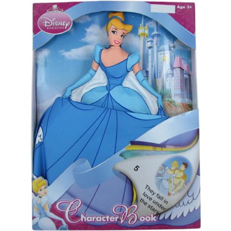 Disney Cinderella Pillow Character Book ()