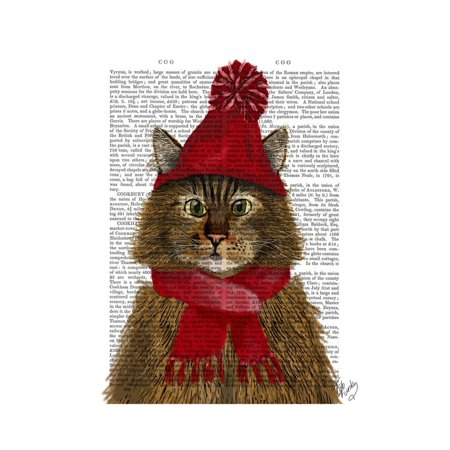 - Maine Coon Cat Print Wall Art By Fab Funky