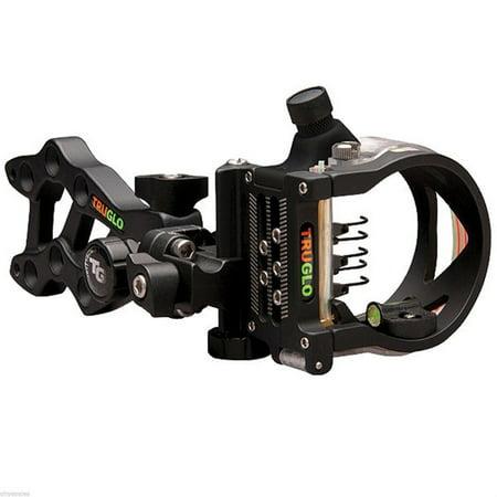 - TruGlo Rival Hunter Micro DDP 5-Pin Bow Archery Sight - Black - TG5605B