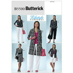 Butterick Pattern Misses' and Misses' Petite Shirt, Dress, Shorts and Pants, E5 (14, 16, 18, 20, 22)