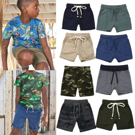 Newborn Kid Baby Boy Summer Camo Pants Shorts Bottoms Trousers Sports Clothes