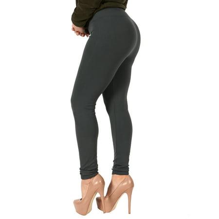 08f9caa417907a True Rock - True Rock Women's Fleece Lined Leggings Solid Charcoal -  Walmart.com