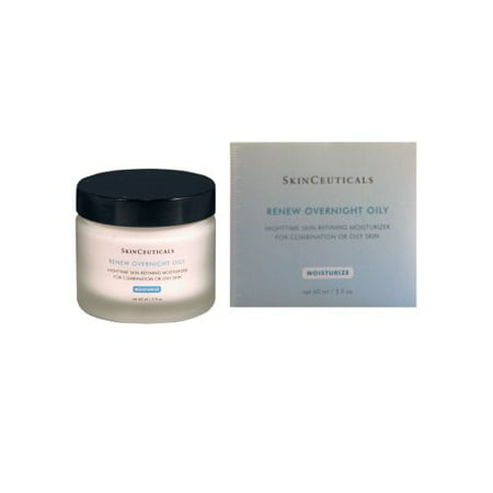Skinceuticals Renew Overnight Oily Nighttime Skin-refining Moisturizer For Combination Or Oily Skin Jar 2