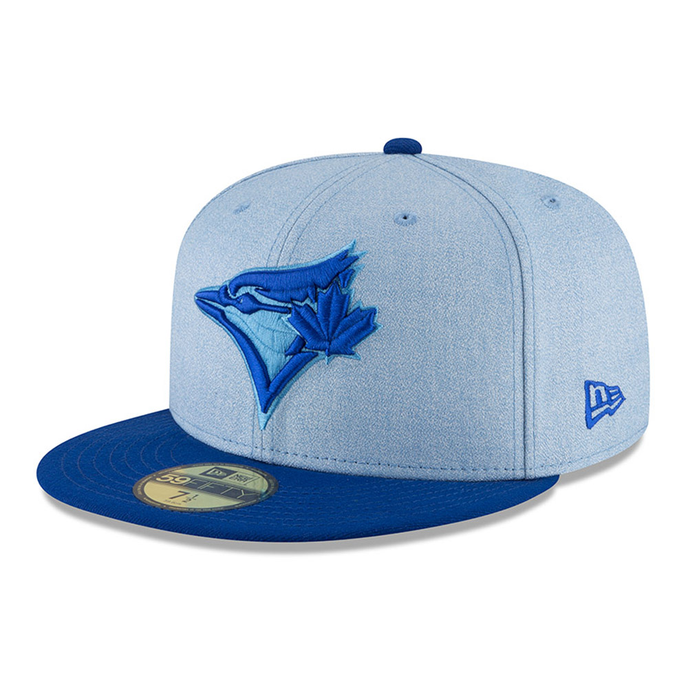 Toronto Blue Jays New Era 2018 Father's Day On Field 59FIFTY Fitted Hat - Light Blue