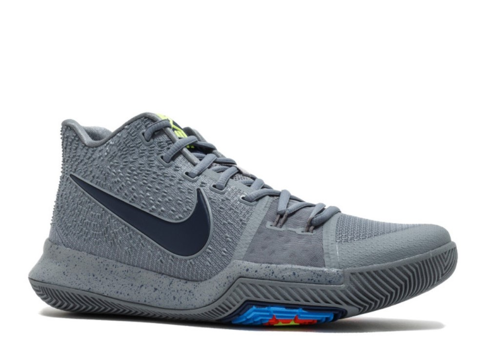 Nike - Men - Kyrie 3  Cool Grey  - 852395-001 - Size 12 cb479c62e