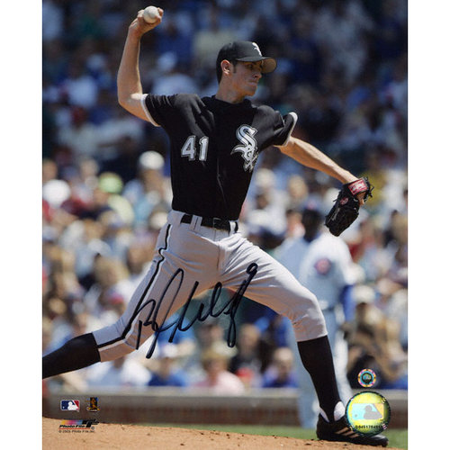 MLB - Brandon Mccarthy Chicago White Sox - Pitching - Autographed 8x10 Photograph