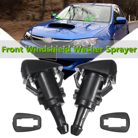 2x Windshield Washer Nozzle Wiper Front fits 2008-12 Subaru Impreza Dorman 47230