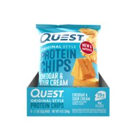 Quest Protein Chips Cheddar & Sour Cream 8PK