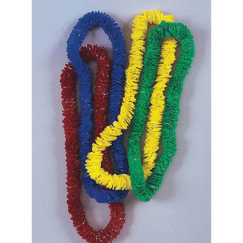 Poly Leis Assorted Colors, Pack of 144