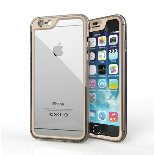iPhone 6s Case, Gelledge Premium Hybrid PC / TPU Protective Full Body Case Cover (Champagne Gold) for Apple iPhone 6 / 6s (2015)