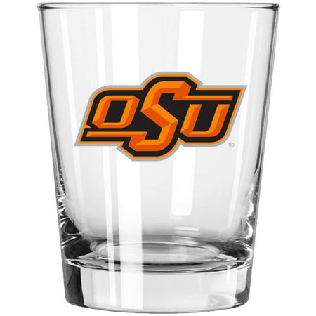 Oklahoma State Cowboys 15oz. Double Old Fashioned Glass - No