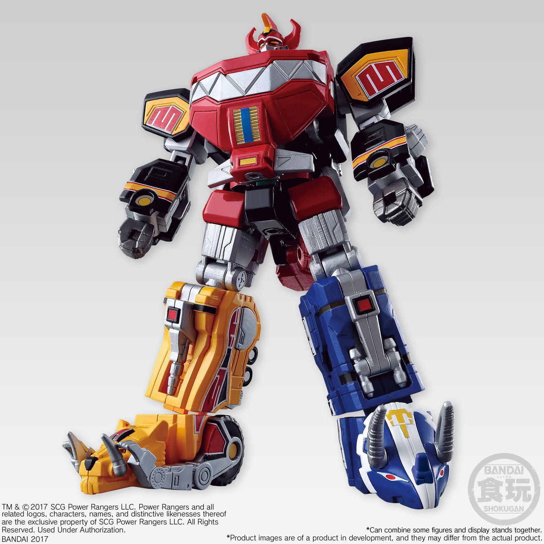 Power Rangers Super Mini Pla Series: Megazord Model Kit by Bandai Hobby