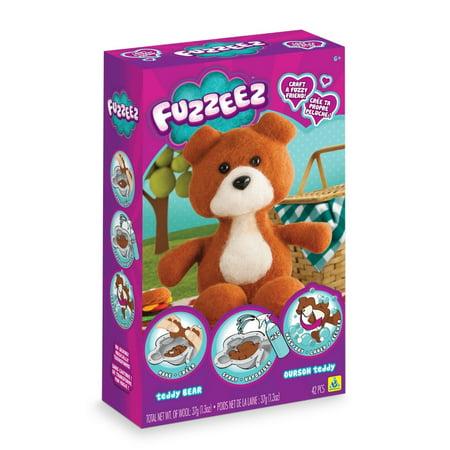 Fuzzeez Felt Kit-Bear (Stuffed Felt)