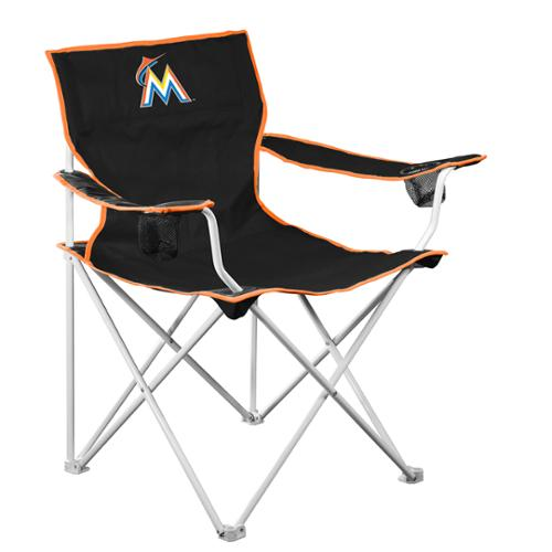 Logo Chair MLB  Miami Marlins Deluxe Chair