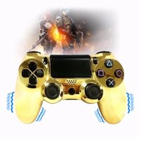 Coutlet Wired Vibrate Controller Dual Double Shock for PS4 & PC, Black