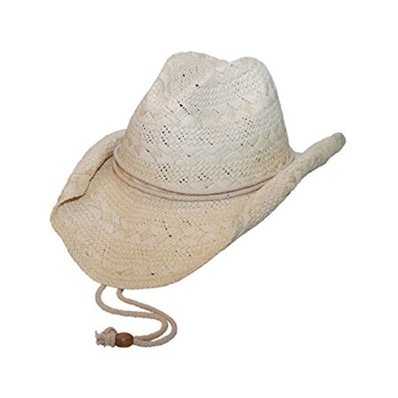 MG Ladies Toyo Straw Cowboy Hat NATURAL](Mg Hats)