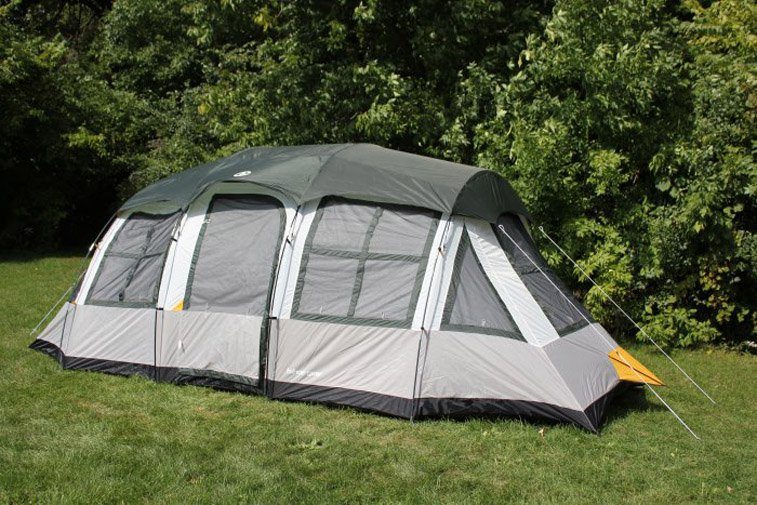 Tahoe Gear Prescott 12 Person 3-Season Instant Outdoor Family Camping Cabin Tent by Tahoe Gear